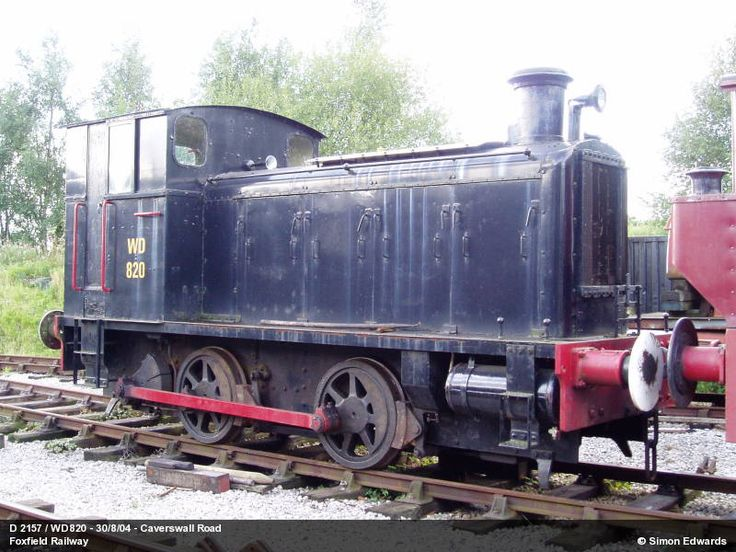 WD 30 = WD 70030 = WD 820 preserved at the Foxfield Railway, UK
