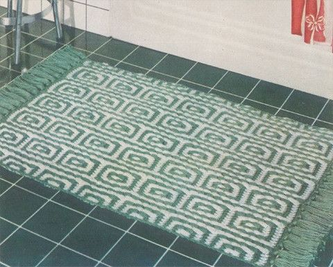 Picture of Mosaic Rug Free Pattern