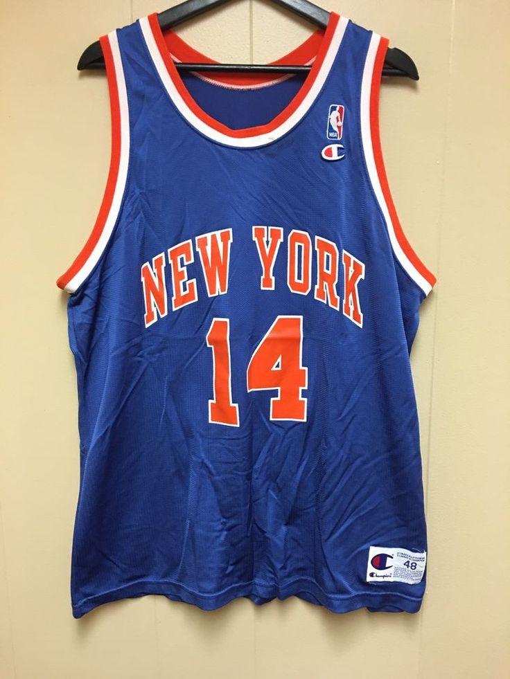 Vintage 90s NBA New York Knicks Anthony Mason Jersey     eBay