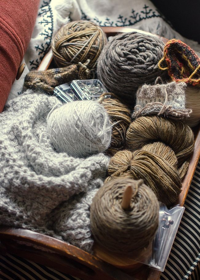 Photographer Kathy Cadigan's knitting life
