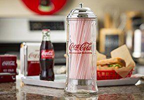 コカ・コーラ ブランド ストローディスペンサー