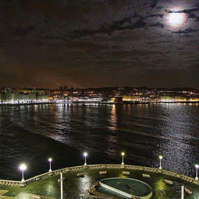 Paseo Marítimo de La Coruña - #Galicia #Spain