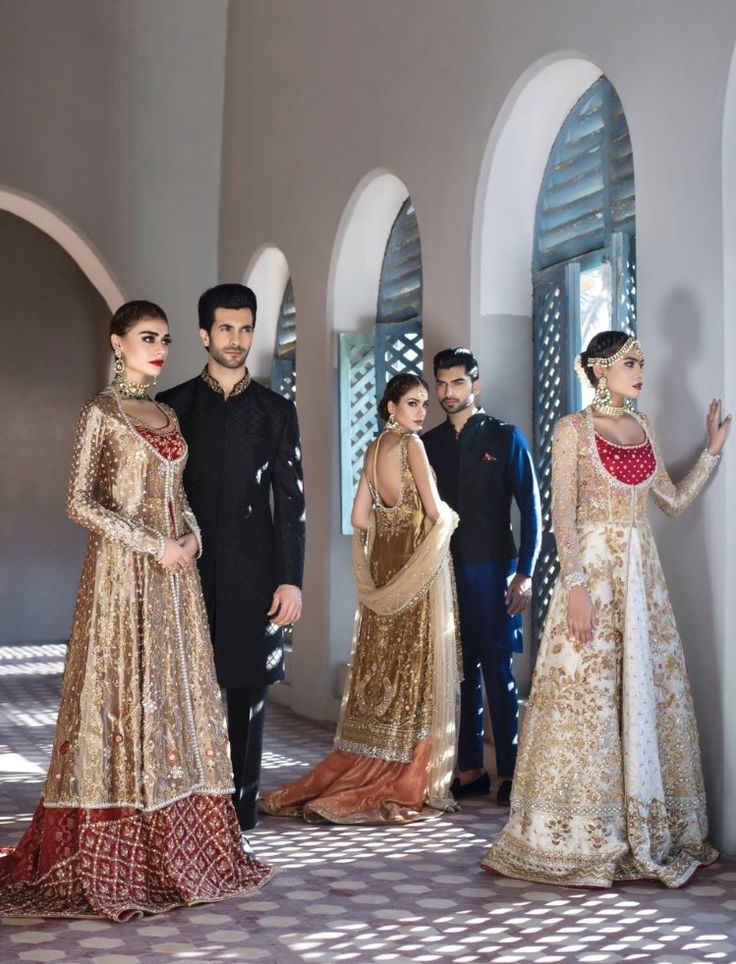 Pakistani couture Sania Maskatiya, August Dream, Fall 2016