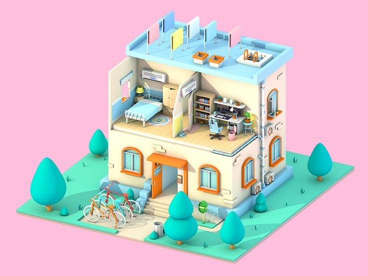 Apartment-Morning by Happy Bird