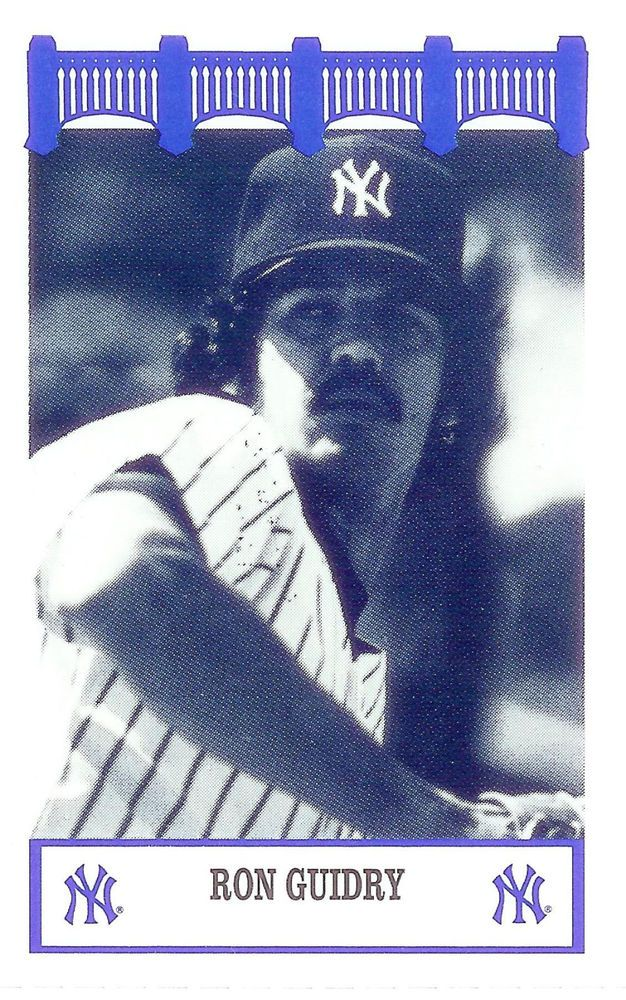 RON GUIDRY  - 1992 WIZ  Yankees Of The 70s Baseball Card - Mint #UpperDeck #NewYorkYankees