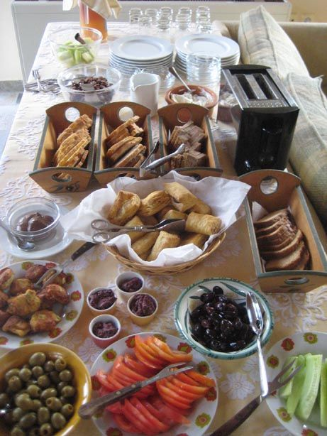 Breakfast at eleonas hotel