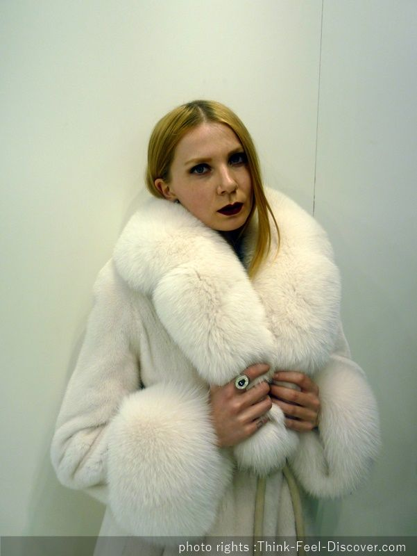 Kastoria International Fur Fair 2016 Lazarou&Vassou Furs model Gianna Vlachou shooting by Chrysanthi Kosmatou, Fashion Editor of Think-feel-Discover.com