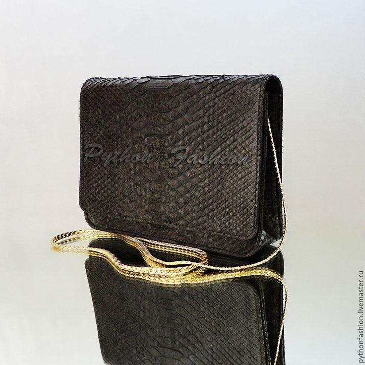 Купить Вечерняя сумочка из питона ELEVENIA - сумочка из кожи питона, вечерняя сумочка, модная сумочка