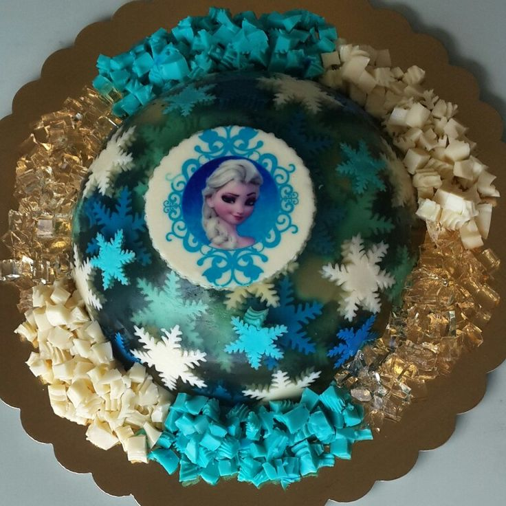 Gelatina 3d Frozen by @eva_ks