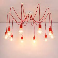 Image result for main light on lots of  cords bedroom