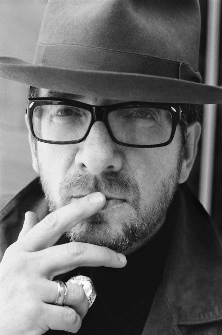 Elvis Costello (1954) - English singer-songwriter. Photo by Shawn Brackbill