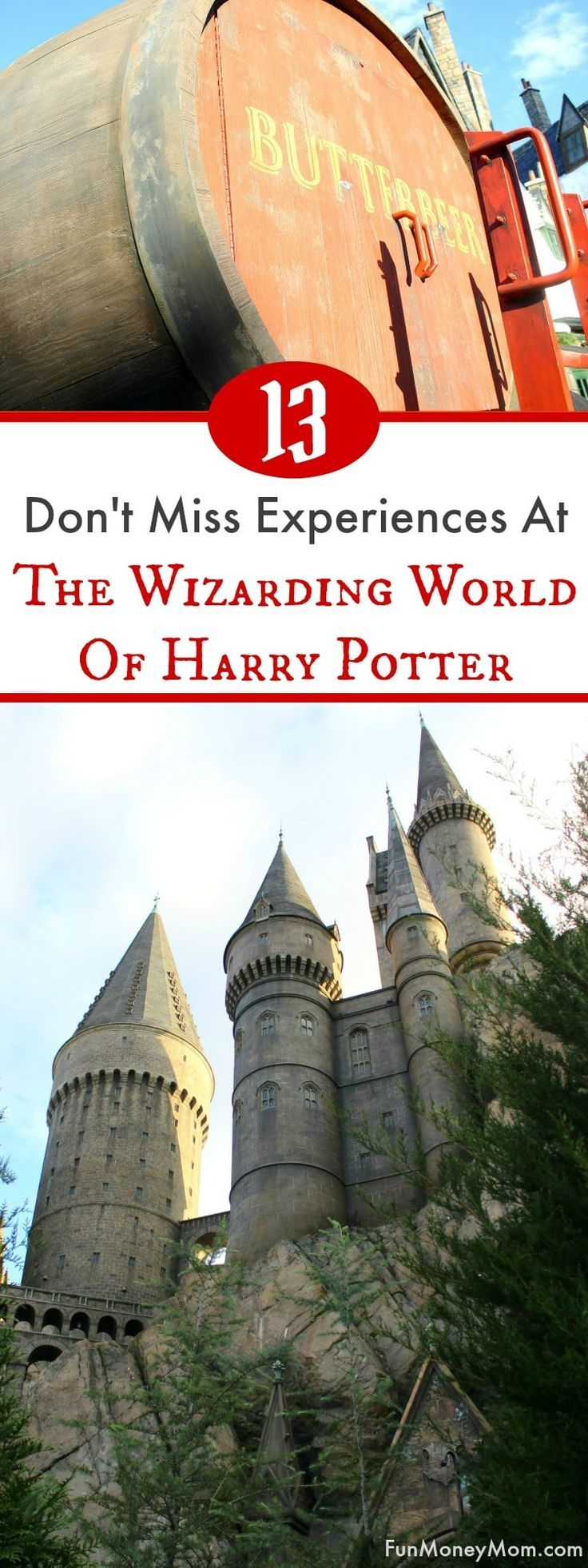 Heading to The Wizarding World Of Harry Potter at Universal Orlando Resort? Harry Potter fans won't want to miss these awesome experiences at Hogsmeade and Diagon Alley. Make your way from Islands Of Adventure to Universal Studios Orlando and feel like you've been transported into the Harry Potter books and movies! #UniversalPartner via @funmoneymom