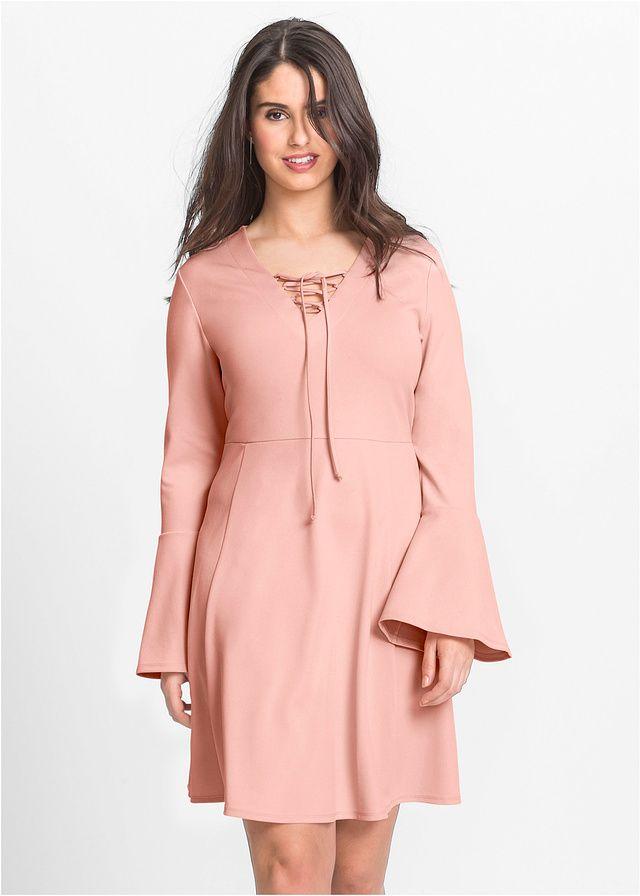 Sukienka ze sznurowaniem Modna sukienka • 99.99 zł • bonprix