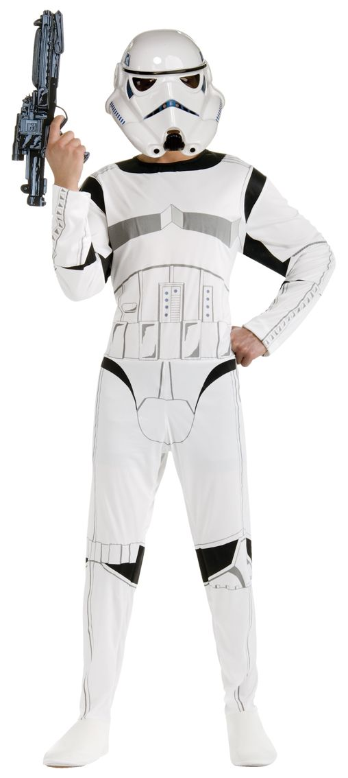 This cheap Stormtrooper fancy dress is the perfect Star Wars costume bargain. Shop the largest online collection of Star Wars costumes and Stormtrooper costumes.