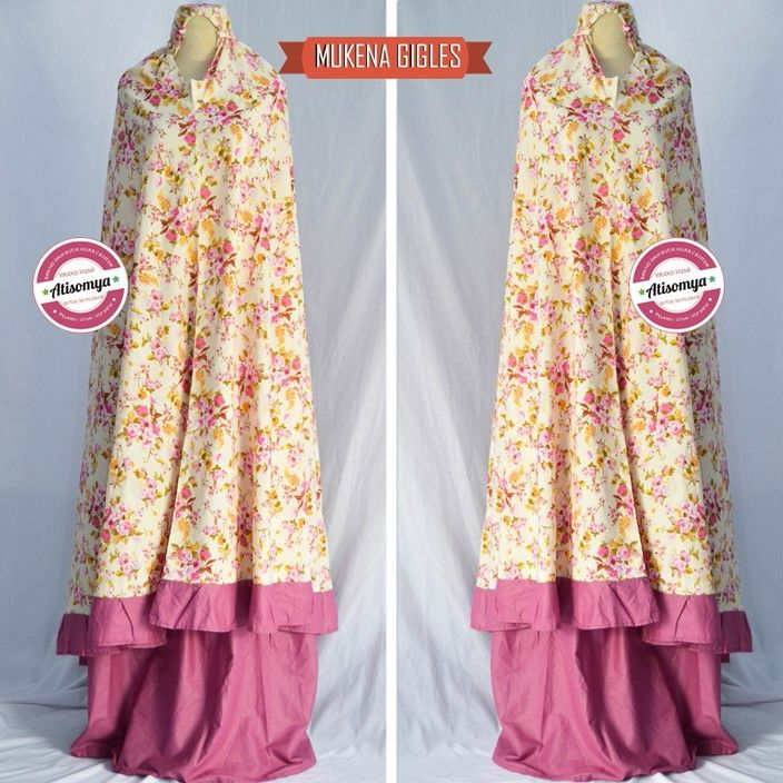 Mukena gigles by atisomya... Available stock please check www.hijabcornerid.com