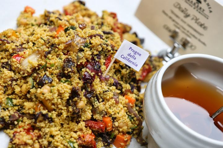 Vegetable Cous Cous with California Prunes