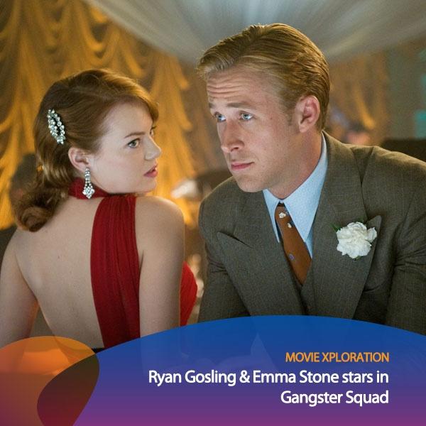 Kalau kamu fans Emma Stone dan Ryan Gosling, kamu wajib nonton film Gangster Squad! Film ini berceritakan tentang upaya satu kelompok polisi dalam menangkap pemimpin mafia bernama Mickey Cohen yang menguasai kota.    *as posted on XL Rame