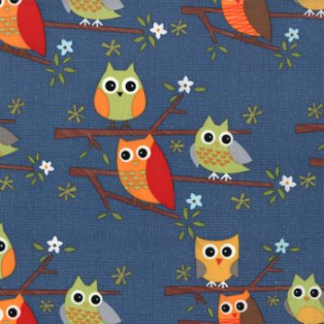 Owl - Ten Little Things is a range from Jenn Ski, for Moda.   $11.00 #owls #tenlittlethings #modafabrics
