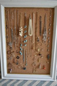 how to make a necklace display board
