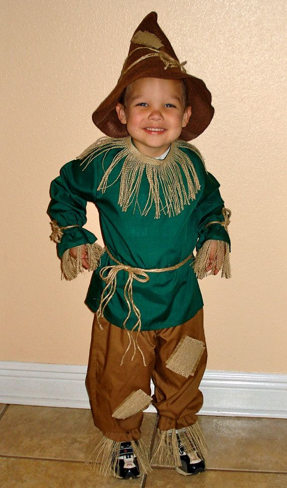 Boys Scarecrow Costume Sizes 38 from The by mygirlygirlcreations