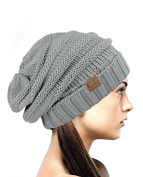 dddcb4a431f3c NYFASHION101 Oversized Baggy Slouchy Thick Winter Beanie Hat ...