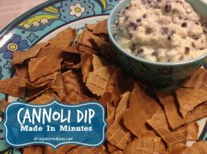 Share Tweet Pin Mail I was on Facebook and founda recipe for cannoli dip posted here. It seemed easy enough, but more importantly, it ...