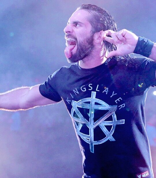Seth Rollins..Channelling the Undertaker??