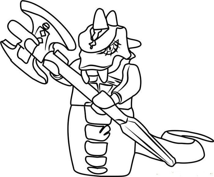 Ninjago Coloring Pages Skalidor Ninjago Coloring Pages Snake