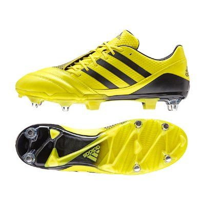 Adidas AW15/SS16 Predator Incurza SG Rugby Boots - Yellow/Black