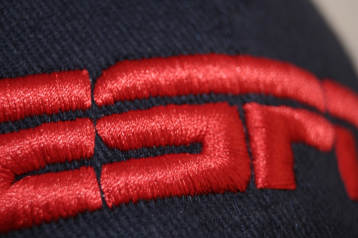 3D embroidery - best suited to chunky logos. The process starts off as a standard bit of 2mm foam which is cut to a rough shape and placed on to the front of the cap, the embroidery machine then runs the logo over the foam which leaves a raised logo.  Once the machine has finished its a case of taking the remaining foam away from the embroidered detail and there you go.  Call us for further details and pricing 01376 552235 / info@sharonleeltd.co.uk need this in our life on the atlantis…