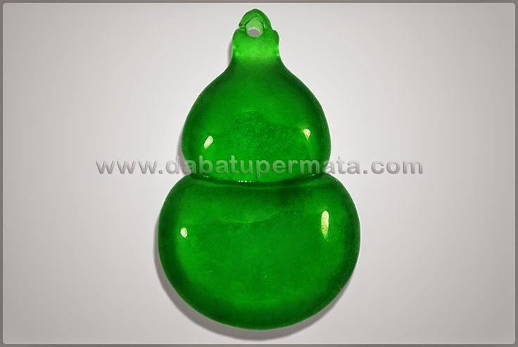 Beautiful Antik Vivid Green JADE/GIOK Crystal Burma - GU 030