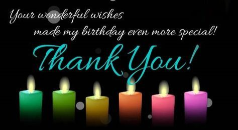 Thanks for birthday wishes quotes and messages