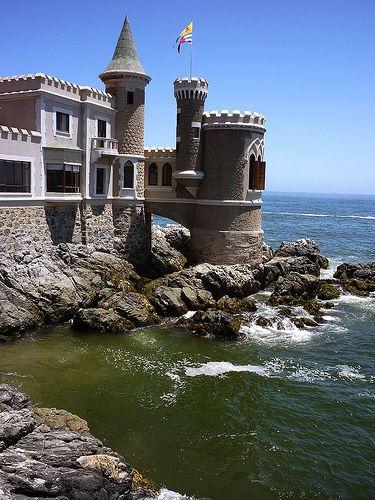Viña del Mar, Chile.... cuando era pequeña soñaba con vivir en este castillo :)