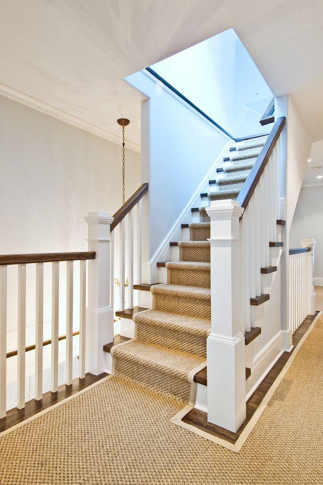 woven jute stair runner 11 best Stairs