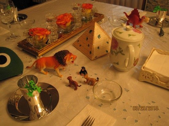 Keep the kids entertained at your Seder table with a visit from the ten plagues & 67 best Passover Table Settings images on Pinterest | Desk layout ...