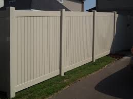 Image result for tongue groove white fence image