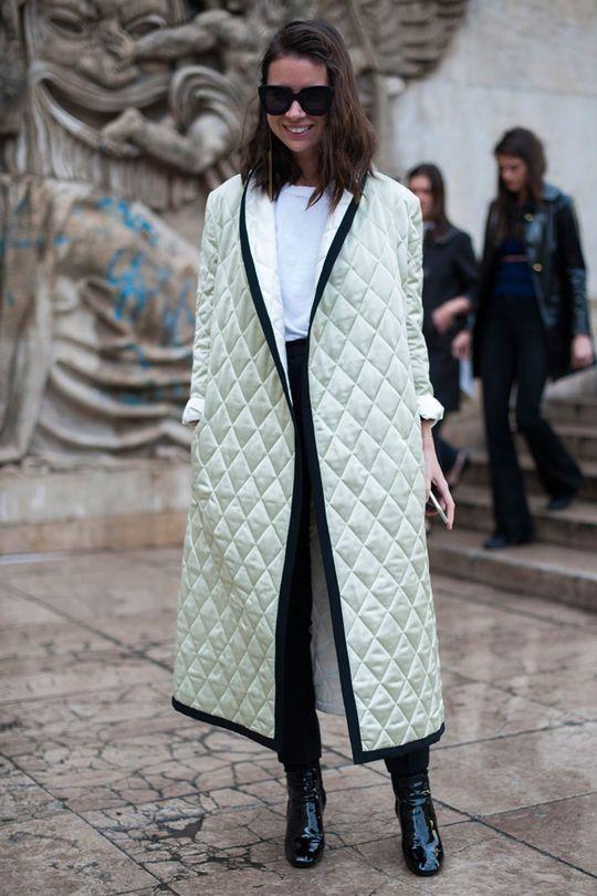 Street style from Paris fashion week autumn/winter '16/'17: