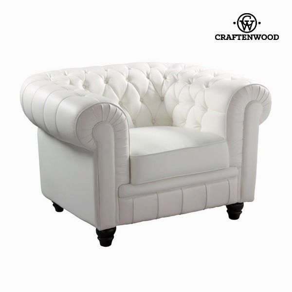 El mejor precio en Hogar 2017 en tu tienda favorita https://www.compraencasa.eu/es/butacones-mecedoras-sillones/65464-sofa-1-plaza-capitone-blanco-by-craftenwood.html