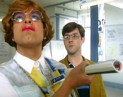 The League of Gentlemen // I love the constant and epic battle between Ross and Pauline