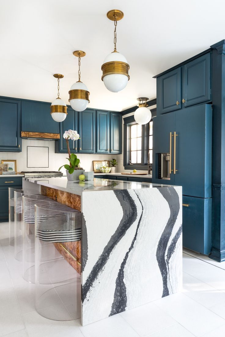 Pin By Maria On Kids Spaces In 2020 Interior Kitchen Interior Home Decor In 2020 Interior Design Kitchen Blue Kitchen Interior Home Decor