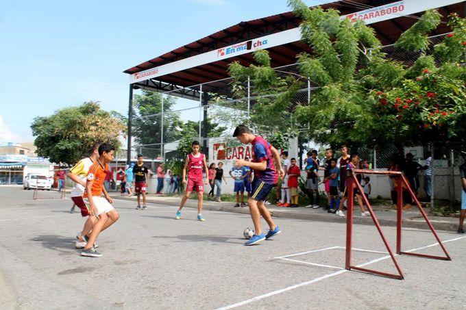 400 niños y niñas participaron en la IV Toma Deportiva de Fundorfa #Deportes #Ultimas_Noticias