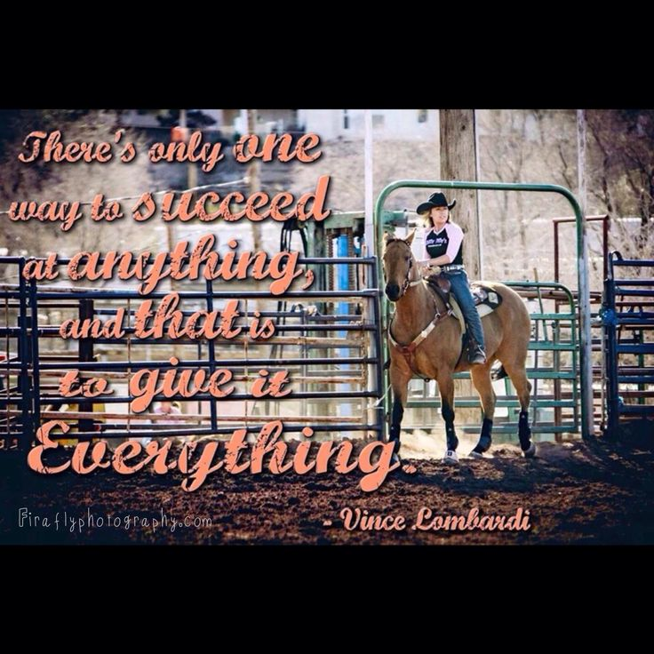 barrel racing quotes tumblr - photo #15