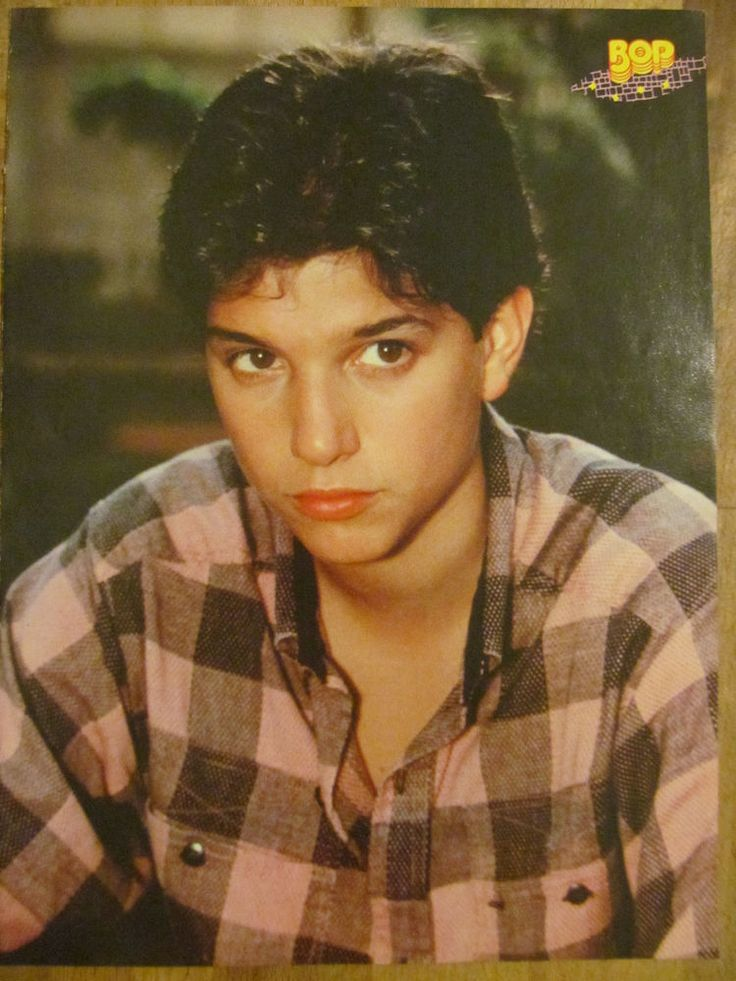 Ralph Macchio, Kirk Cameron,  Double Full Page Vintage Pinup