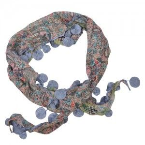 Blue Triangle Scarf (Discs) WAS $12.95 NOW $8.95