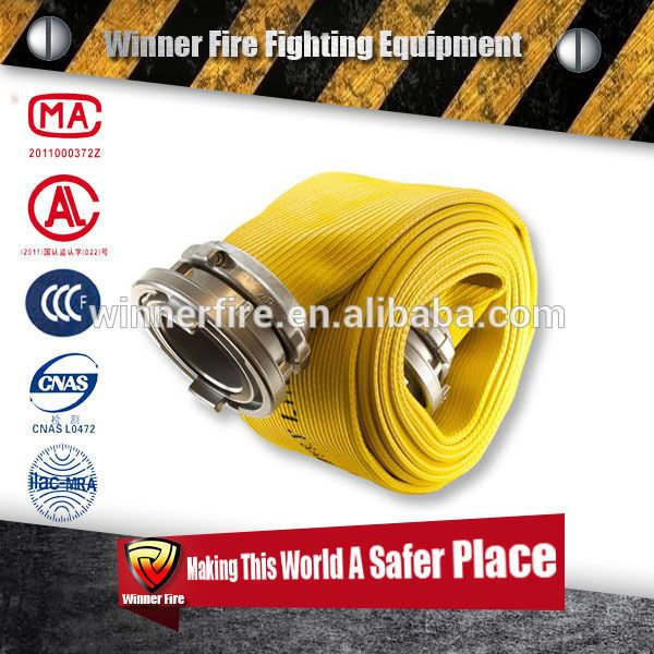 Certificated Yellow Color irrigation Agriculture Hose,Irrigation hose, farm Agriculture Hose with PVC line