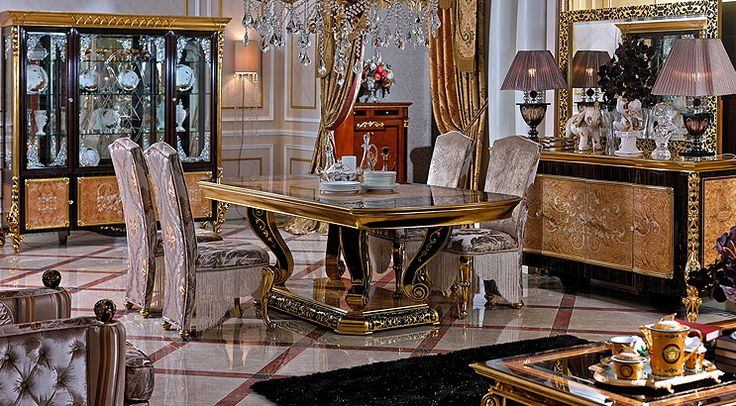 Italian Dinning Room & European Dinning Rooms Sets The Royal Collection