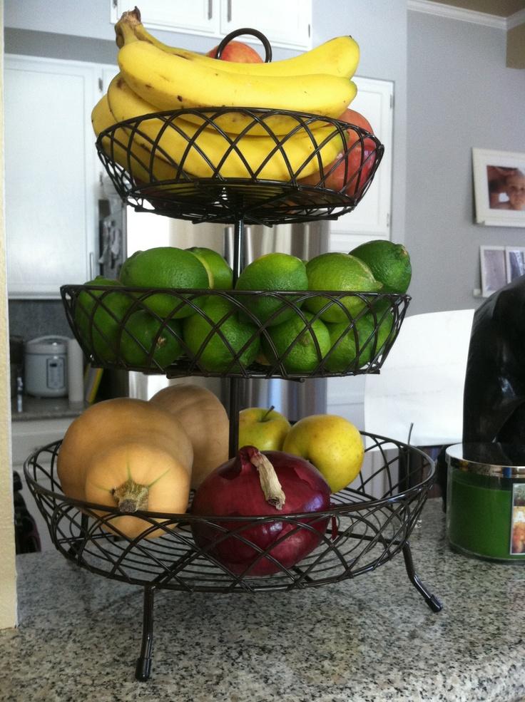 Dessert Holder As A Fruit Stand
