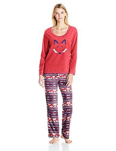 St. Eve Women's Microfleece Applique Pajama Set - http://www.darrenblogs.com/2017/03/st-eve-womens-microfleece-applique-pajama-set/
