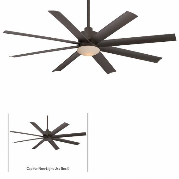 """cool ceiling fan with light for covered area- looks like the """"big ass fans"""" out there."""