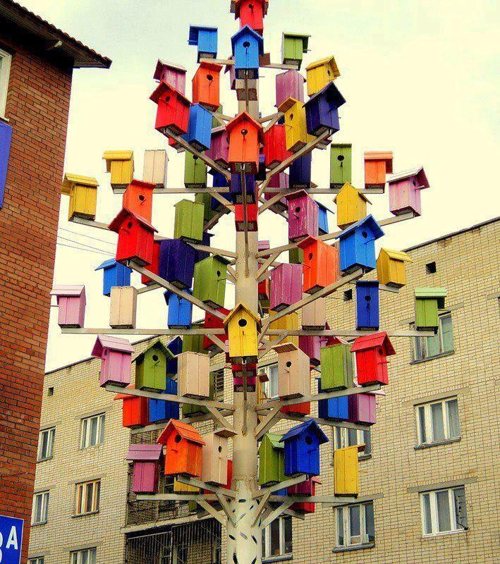 Casa de las AVes!! un hotel de aves =)